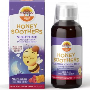 SUNDOWN KIDS Clean Care Honey Soothers Nighttime Cough Syrup
